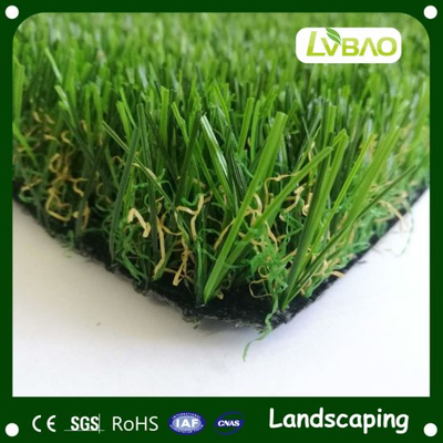 Fire Classification E Grade Fake Yarn Natural-Looking Multipurpose Commercial Home&Garden Lawn Artificial Grass