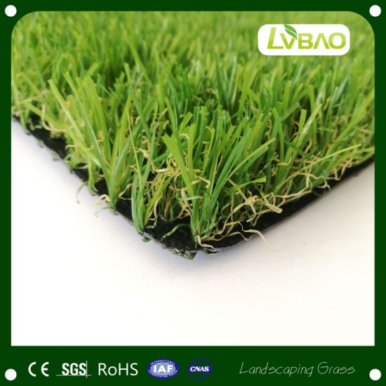Landscaping Small Mat Fire Classification E Grade Monofilament Comfortable Synthetic Artificial Turf