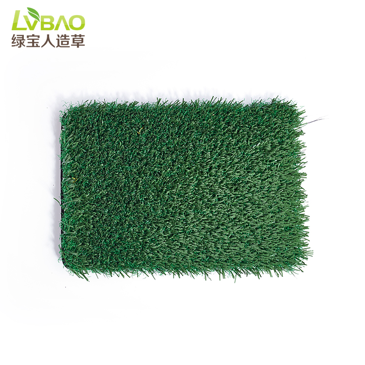 Chinese Factory 30mm No Infill Synthetic Lawn Artificial Grass