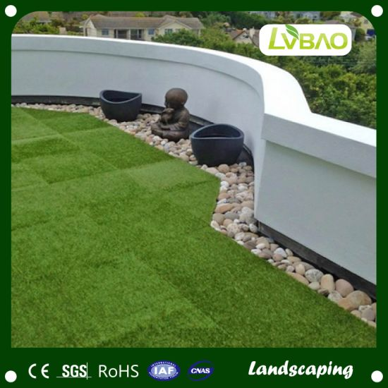 Lead Free Landscaping Artificial Grass for Backyard, Decoration, Commercial