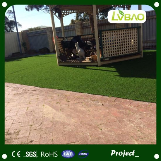 Fake Plastic Natural Green Artificial Grass for Garden Decoration