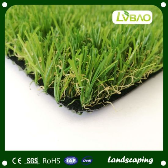 35mm 16800 Garden Synthetic Turf Artificial Landscaping Grass for Courtyard