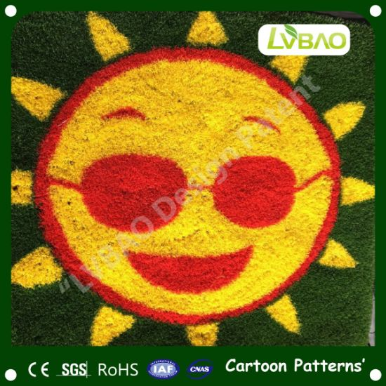 Multipurpose Cartoon Grass Small Mat Yard Yard Pet Artificial Turf